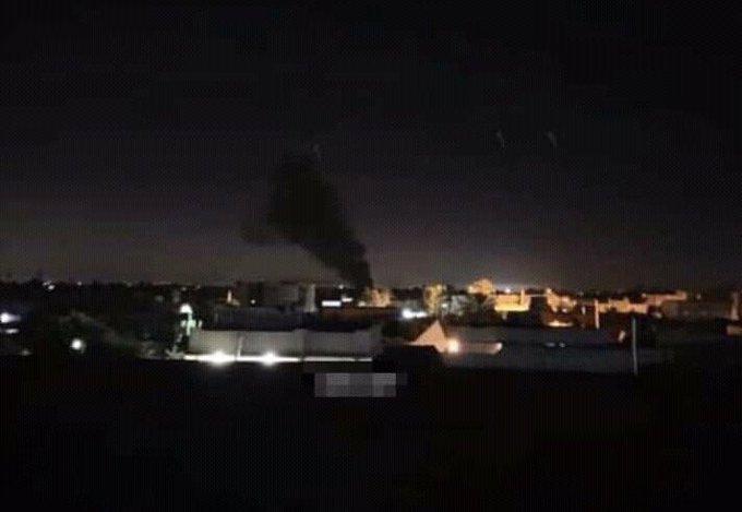 طيران تابع لحفتر يقصف الكلية الجوية بمصراتة للمرة الأولى