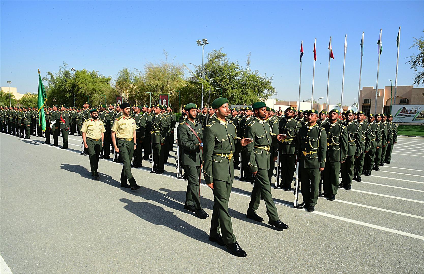 القوات المسلحة تحتفل بتخريج الدفعة 9 من منتسبي الخدمة الوطنية