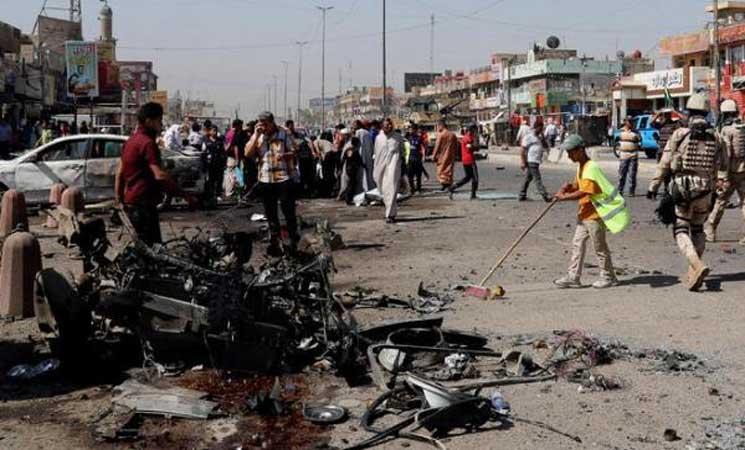 إصابة 3 عراقيين في انفجار عبوة ناسفة غربي بغداد