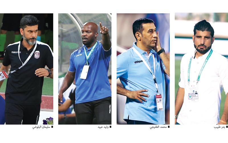 5 مدربين مواطنين يقودون فرقهم بدوري الدرجة الأولى في الموسم الجديد