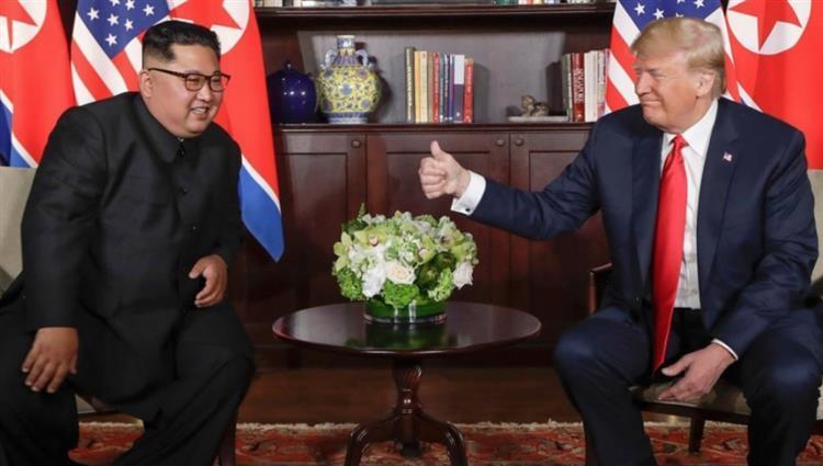 كيم جونغ يبعث رسالة لترامب بشأن المحادثات النووية