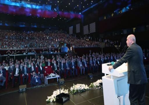 أردوغان: الحالمون بـربيع تركي واهمون.. وصفقة القرن لن تمر