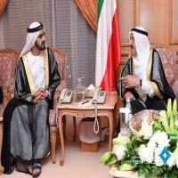 محمد بن راشد يلتقي أمير الكويت في مكة