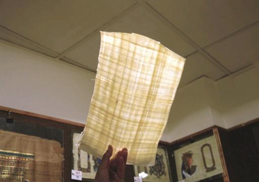 قرية مصرية في دلتا النيل تكافح للحفاظ على صناعة ورق البردى
