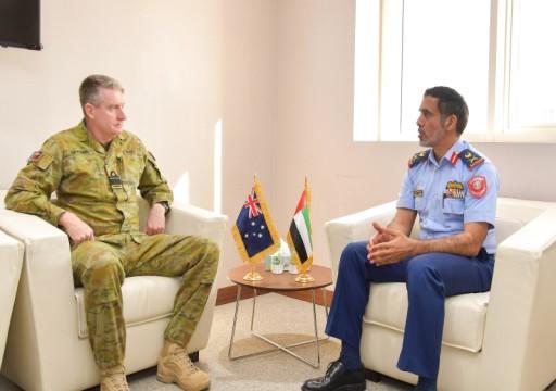 وزارة الدفاع تستقبل قائد القوات الأسترالية في الشرق الأوسط