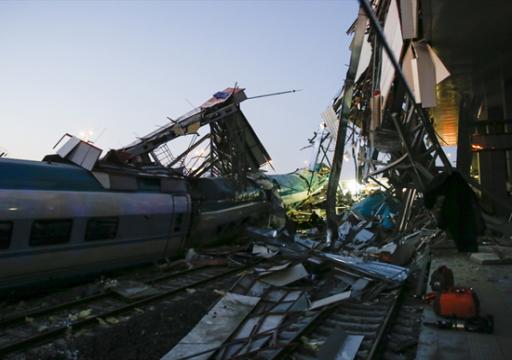 مقتل وإصابة 47 شخصا في حادث قطار بتركيا