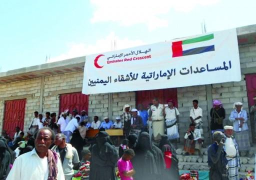 حمدان بن زايد: الإمارات ملتزمة بالمبادئ الإنسانية التي لا تفرق بين متلقي المساعدات