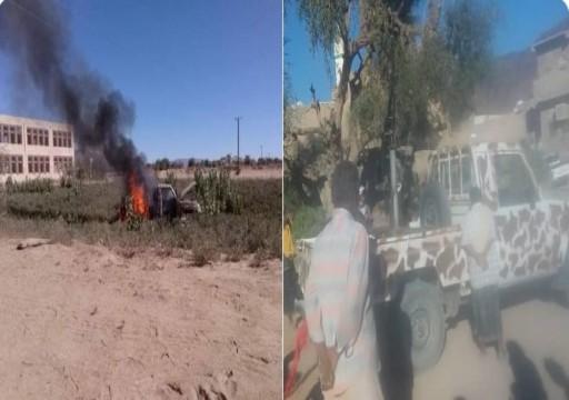 مواجهات عنيفة بين قوات مدعومة إماراتياً وقبائل يمنية