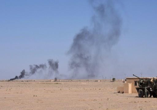 طائرات مجهولة تستهدف فصائل مدعومة من إيران شرق سوريا