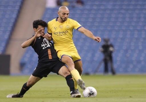التعادل السلبي يحسم قمة النصر والشباب في الدوري السعودي