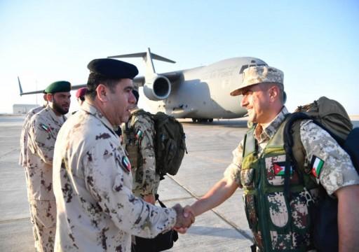 انطلاق التمرين العسكري المشترك «الثوابت القوية» بين الإمارات والأردن