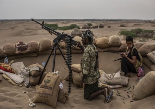 احتدام المعارك بين الجيش اليمني والحوثيين غرب وشمال مأرب