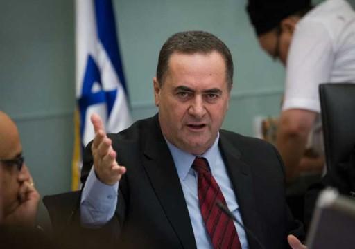 وزير خارجية إسرائيل: في أبوظبي كما في تل أبيب يكرهون أردوغان!