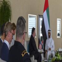 بومبيو يدعو من أبوظبي لحل الأزمة الخليجية وإنهاء الصراع في اليمن