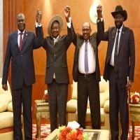 رئيس جنوب السودان والمعارضة المسلحة يوقعان اتفاق سلام بالخرطوم