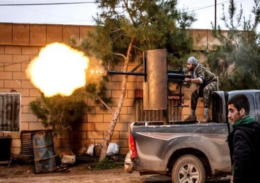 معارك عنيفة بين قوات سوريا الديموقراطية وداعش في الباغوز السورية
