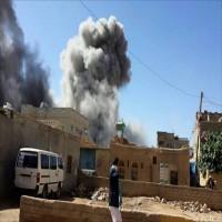 قصف للتحالف العربي يقتل امرأة وفتاة ويصيب أطفالاً في صعدة