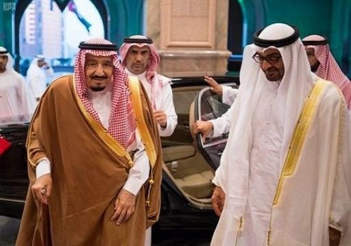 """""""رويترز"""" تعلق على زيارة محمد بن زايد للسعودية: التحالف يتصدع"""