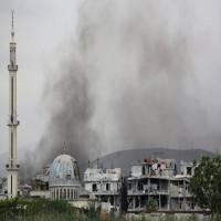 ضربات جوية أمريكية بمشاركة بريطانيا وفرنسا على سوريا