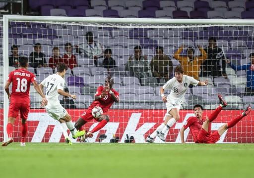 كوريا الجنوبية تتأهل إلى دور الـ16 في بطولة كأس آسيا19