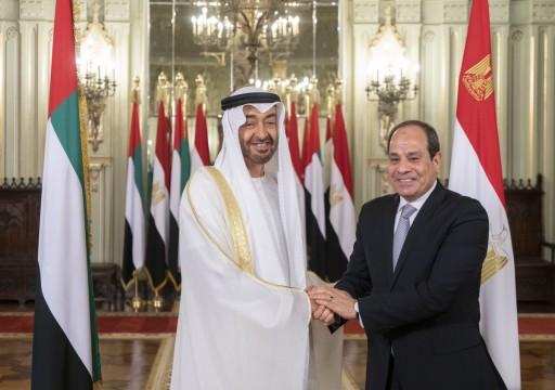 محمد بن زايد يصل الإسكندرية في زيارة مفاجئة