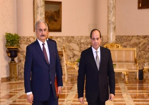مجرم الحرب حفتر في ضيافة زعيم الانقلاب للمرة الثانية.. والوفاق تستعيد مواقع جديدة