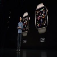 أبل تكشف ساعتها الذكية ووتش 4 بمميزات صحية