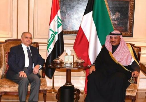 العراق والكويت يبحثان تصفير الخلافات بينهما