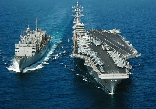 """بولتون: واشنطن تُرسل حاملة طائرات وقاذفات إلى الشرق الأوسط في """"رسالة"""" إلى إيران"""