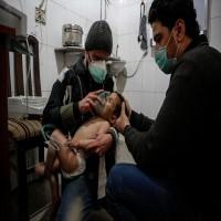 28 قتيلاً في قصف مكثف للغوطة بالكلور