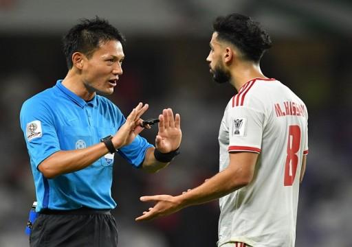 """""""فيفا"""" يكلف الحكم الياباني ريوجي ساتو بإدارة مباراة منتخبنا الوطني ونظيره العراقي"""