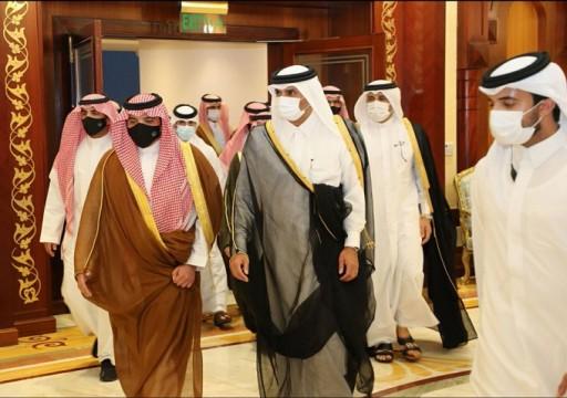بعد زيارة العراق.. وزير الداخلية السعودي يصل الدوحة للمرة الأولى منذ سنوات