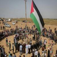 غزة.. مئات الإصابات في جمعة حرق العلم الإسرائيلي