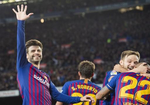 برشلونة يعلق جميع أنشطة الفريق ويطبق خطة تدريب من المنازل