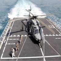 تمرينات مشتركة للبحرية القطرية مع إيطاليا والهند