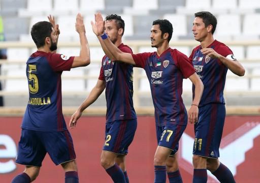 الوحدة يتغلب على دبا متذيل الترتيب بثلاثة أهداف مقابل هدف