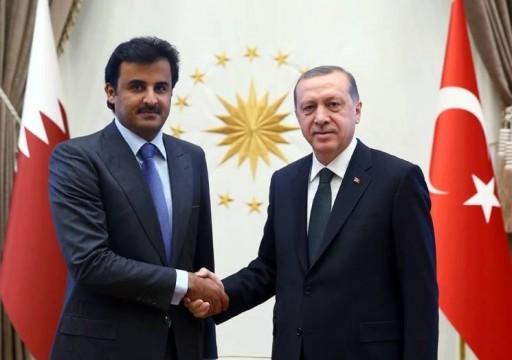 الرئاسة التركية: أمير قطر يجتمع بأردوغان غدا الجمعة