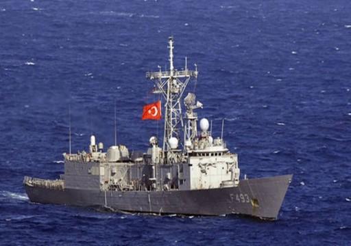 تلفزيون: البحرية التركية اعترضت سفينة إسرائيلية شرقي المتوسط