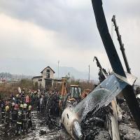 تحطم طائرة تقل أكثر من 80 راكبًا في المكسيك