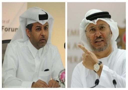 هكذا رد مسؤول قطري على هجوم قرقاش بشأن استقصاد السعودية