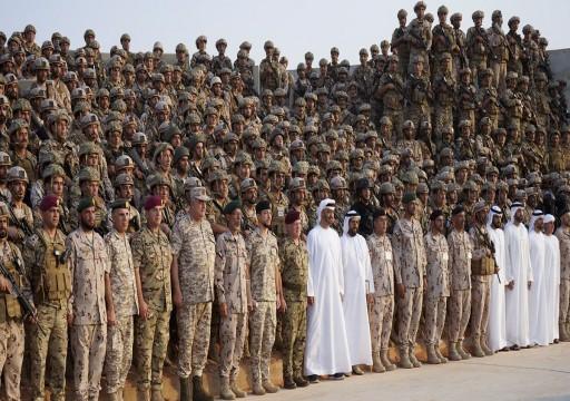 ختام التدريب العسكري الثوابت القوية بين الإمارات والأردن