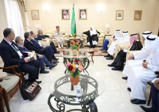 الغنوشي يبحث مع رئيس مجلس الشورى السعودي القضايا المشتركة