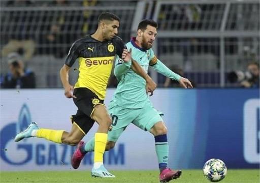 برشلونة يتعادل مع مضيفه دورتموند بـأبطال أوروبا