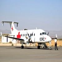 التحالف العربي يجبر طائرة تابعة للصليب الأحمر على الهبوط في جازان