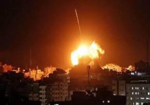 غارات إسرائيلية على شمالي غزة دون إصابات