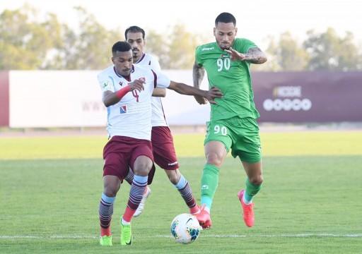 الإمارات يفوز على العنيد وتعادل خاسر لدبا الفجيرة أمام الذيد