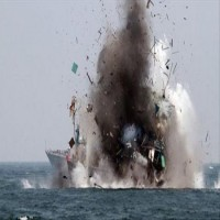 التحالف يعلن تدمير زورقين مفخخين للحوثيين قرب ميناء جازان السعودي