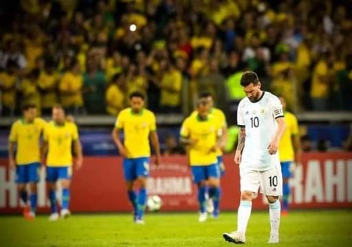 اتهامات بتدخل رسمي لعرقلة تقنية الفيديو بمباراة البرازيل والأرجنتين
