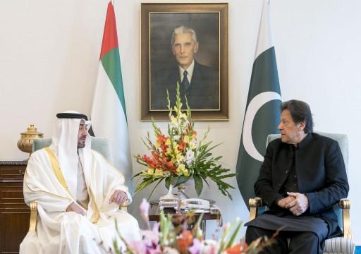 حصاد زيارة محمد بن زايد.. 200 مليون دولار لدعم مشاريع اقتصادية في باكستان