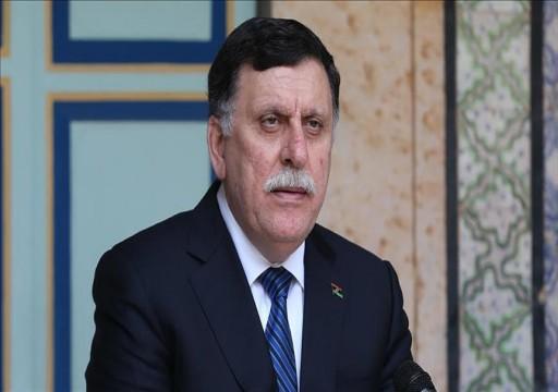 الوفاق الليبية: لا وقف لإطلاق النار دون انسحاب حفتر